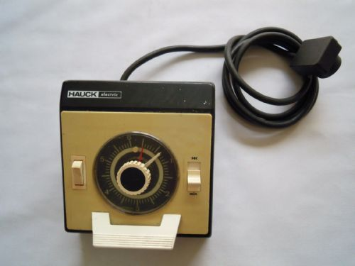 HAUCK ELECTRIC ENLARGER TIMER